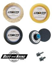 "Buff and Shine 3"" Tri-Pack Buffing Kit"