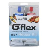 West System G - Flex 655-K Epoxy Adhesive Repair Kit