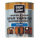 LAST N LAST MARINE & DOOR SPAR VARNISH, CLEAR HIGH GLOSS