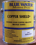 Blue Water Copper Shield 45