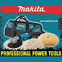 "MAKITA 7"" ELECTRONIC SAND/POLISHER"
