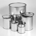 Unlined Metal Paint Cans